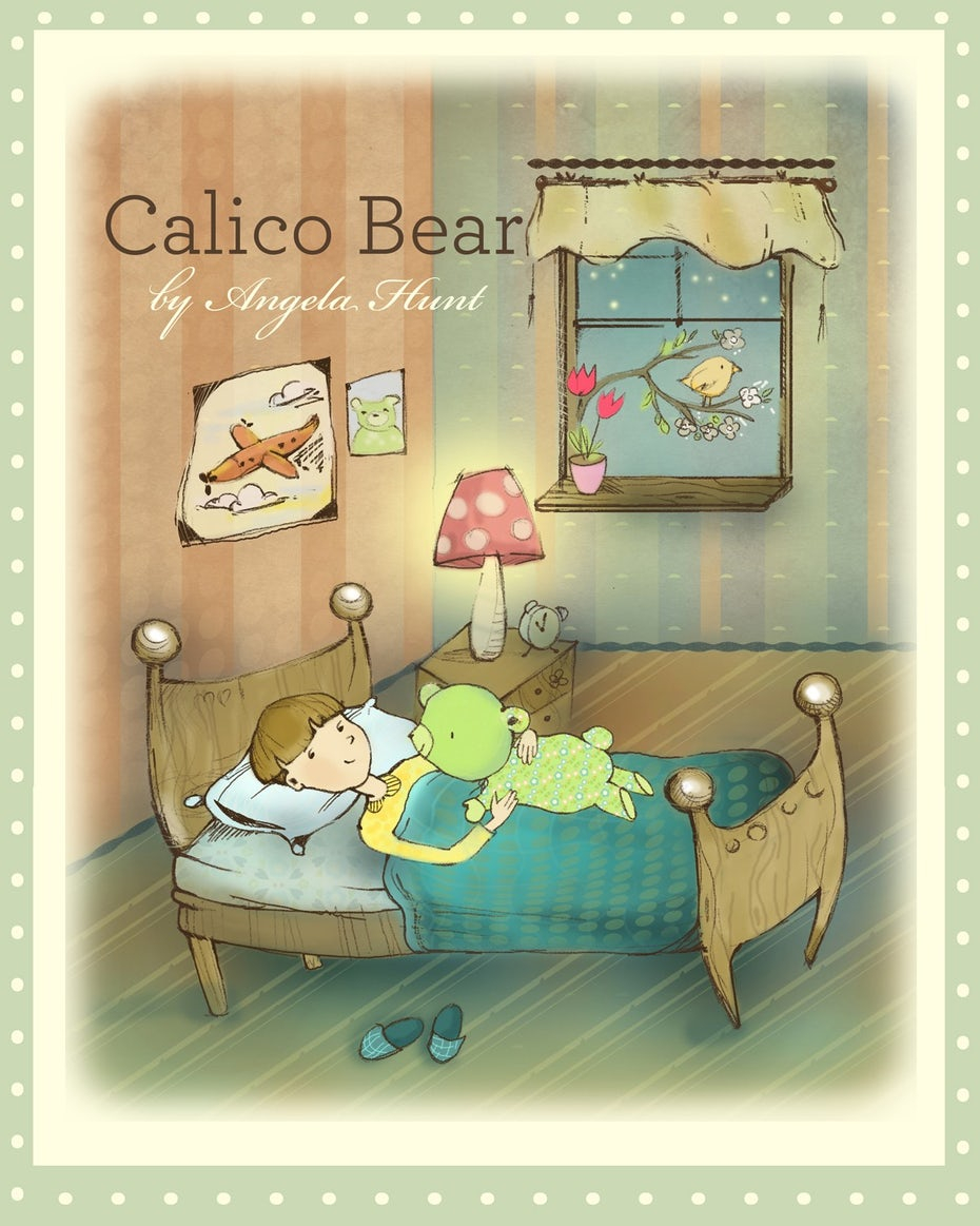 Calico Bear illustration