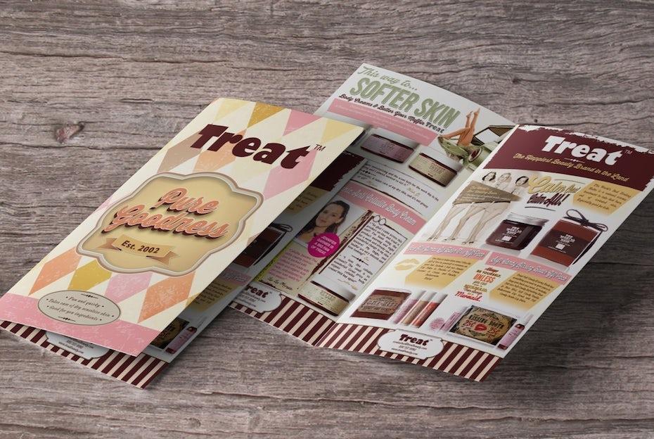 Treat Beauty brochure