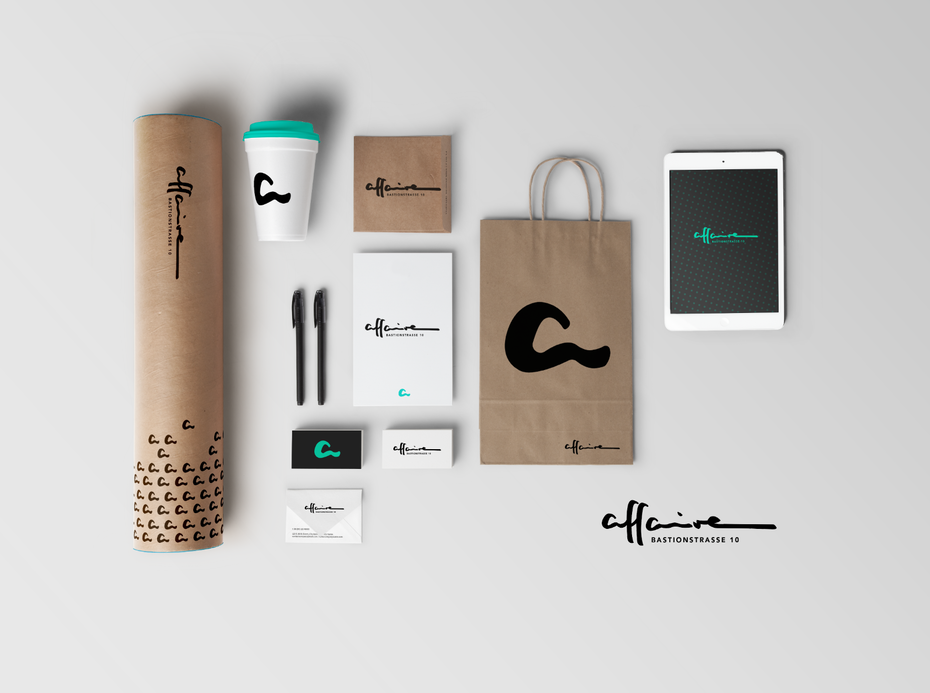 example for how to design a logo with brand identity design in mind