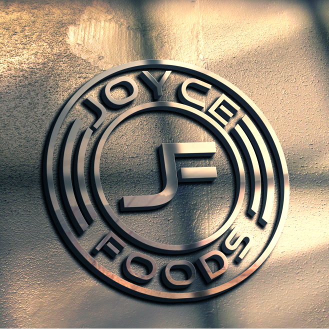 Modern logo for Joyce Foods