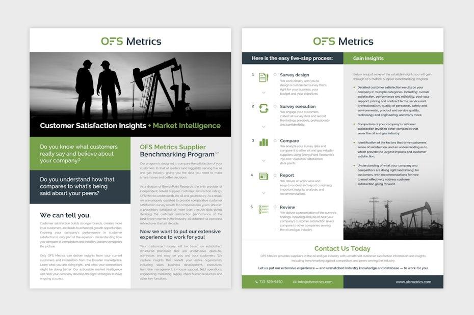 OFS Metrics brochure