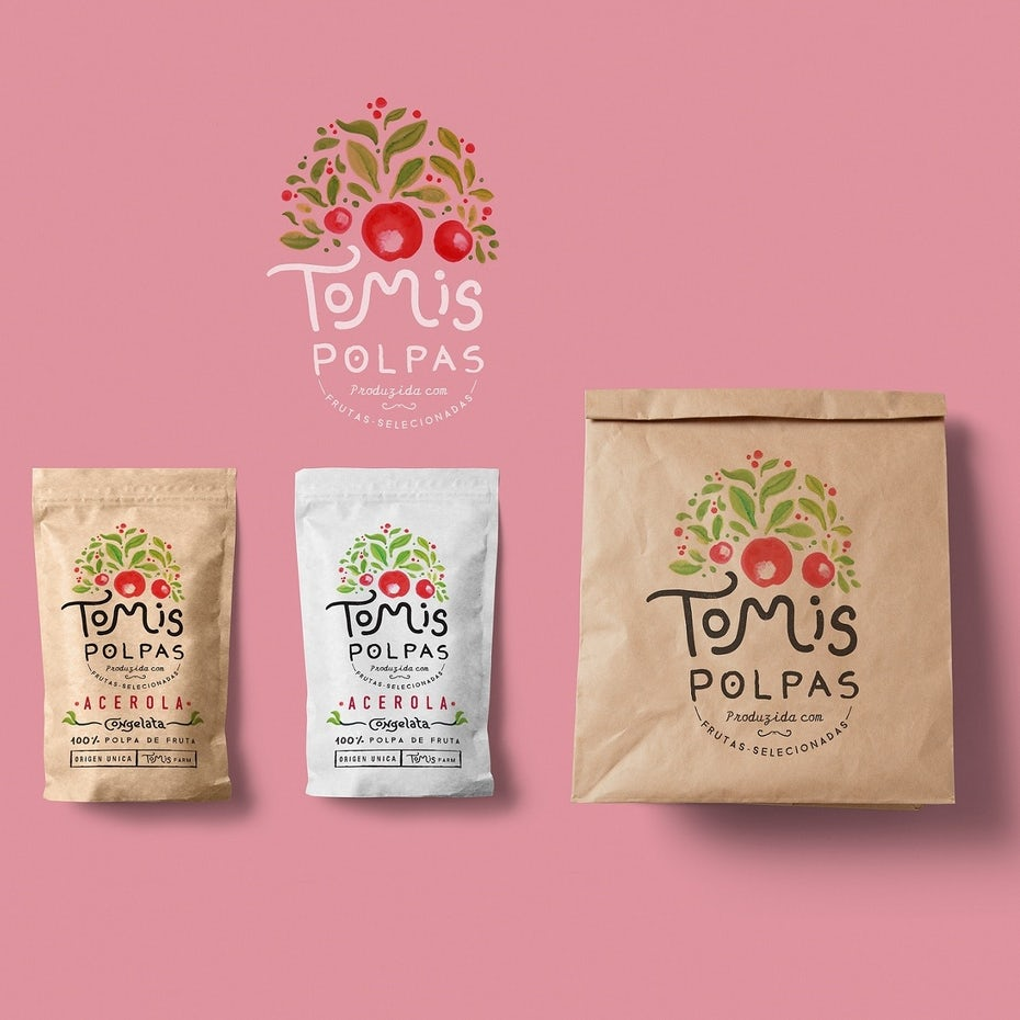 """tolmis polpas"" packaging"