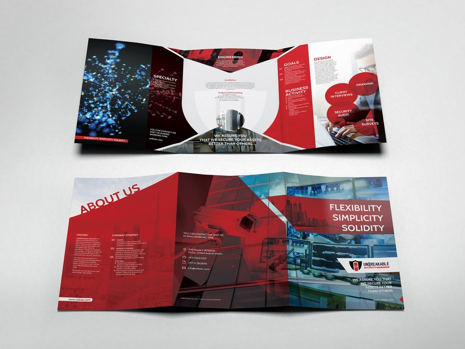 Unbreakable Security Company brochure