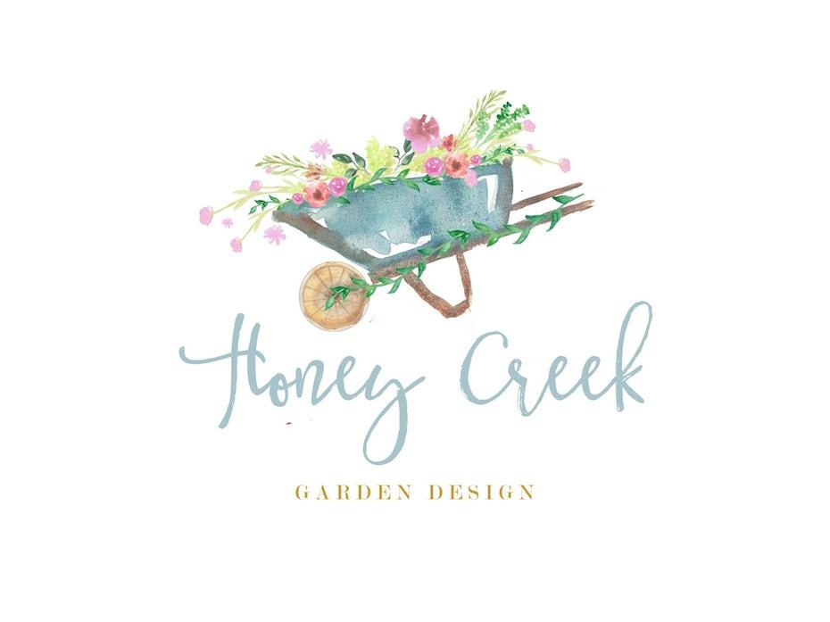 Honey Creek Garden Design logo