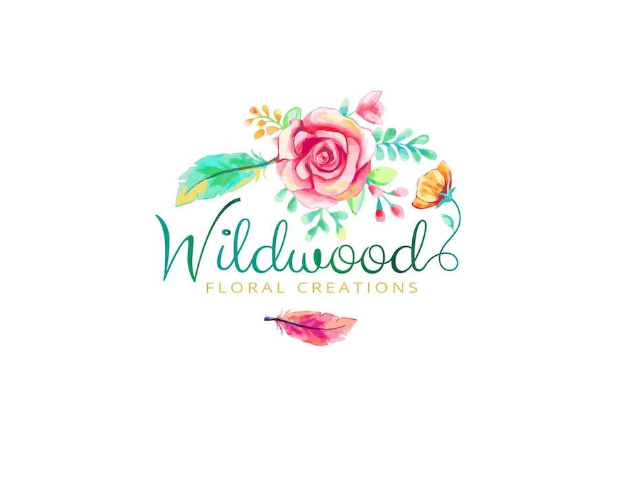 Wildwood Floral Creations logo