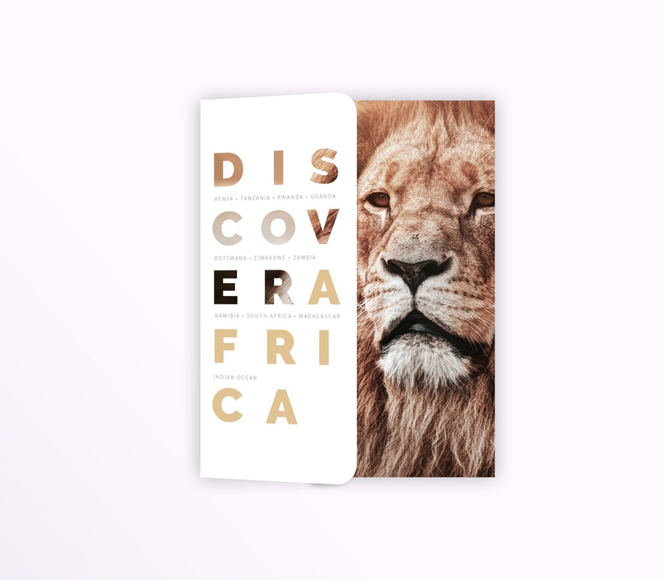 Discover Africa brochure