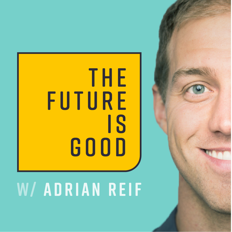 podcast cover artwork for The Future is Good