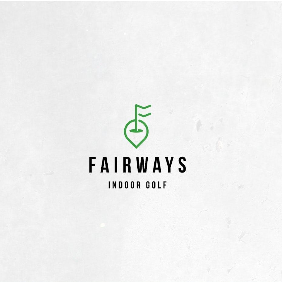 Fairways Indoor Golf logo