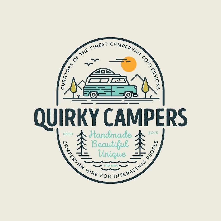 Quirky Campers logo