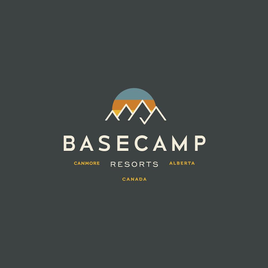 Basecamp Resorts logo design