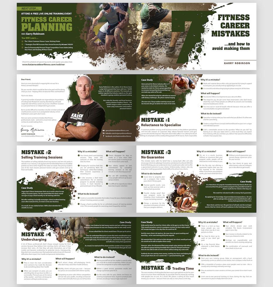 Kaizen Outdoor Fitness brochure