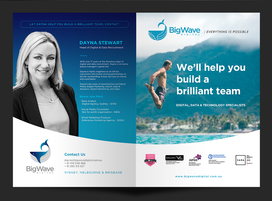 Big Wave Digital brochure