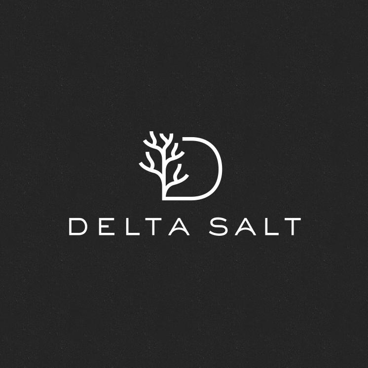 Sans serif font logo with minimalistic lines