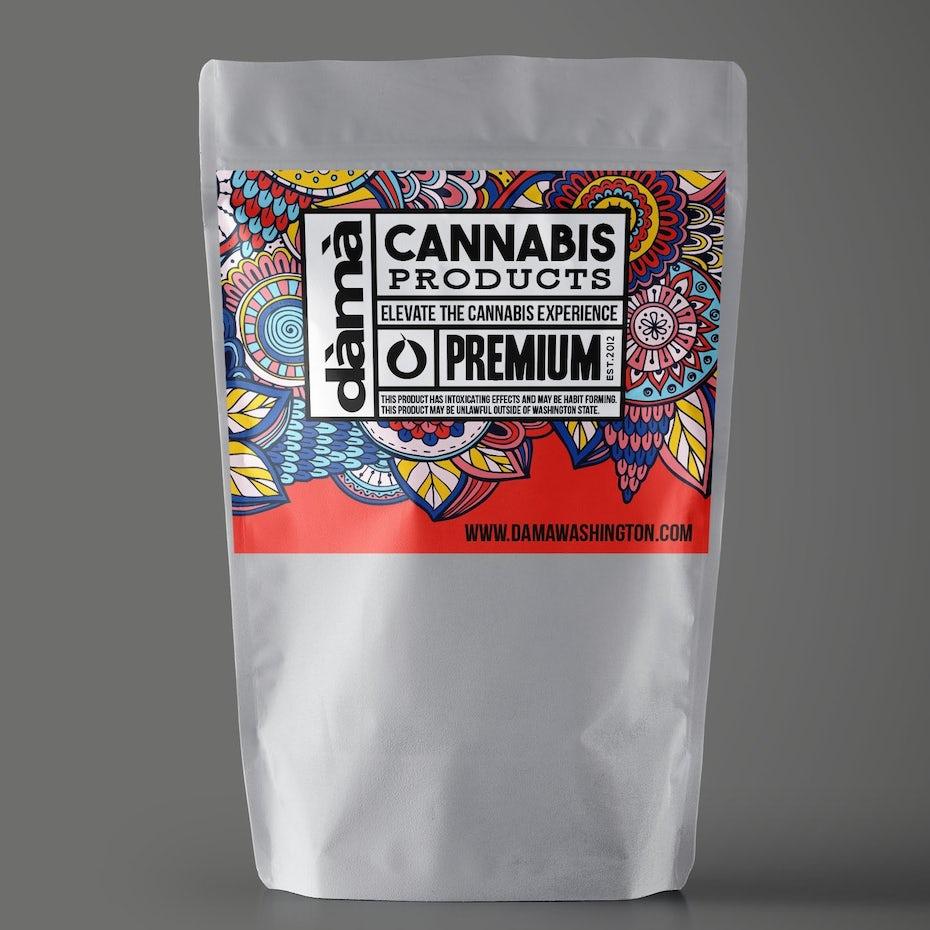 Logo design for Dama Cannabis