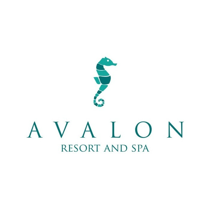Serif font for Avalon resort