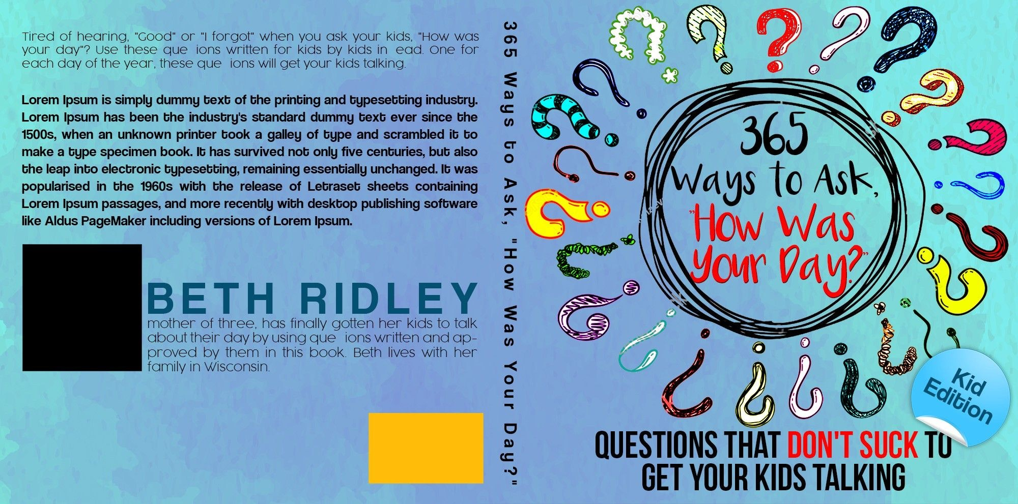 365 Ways to Ask How Was Your Day? book cover