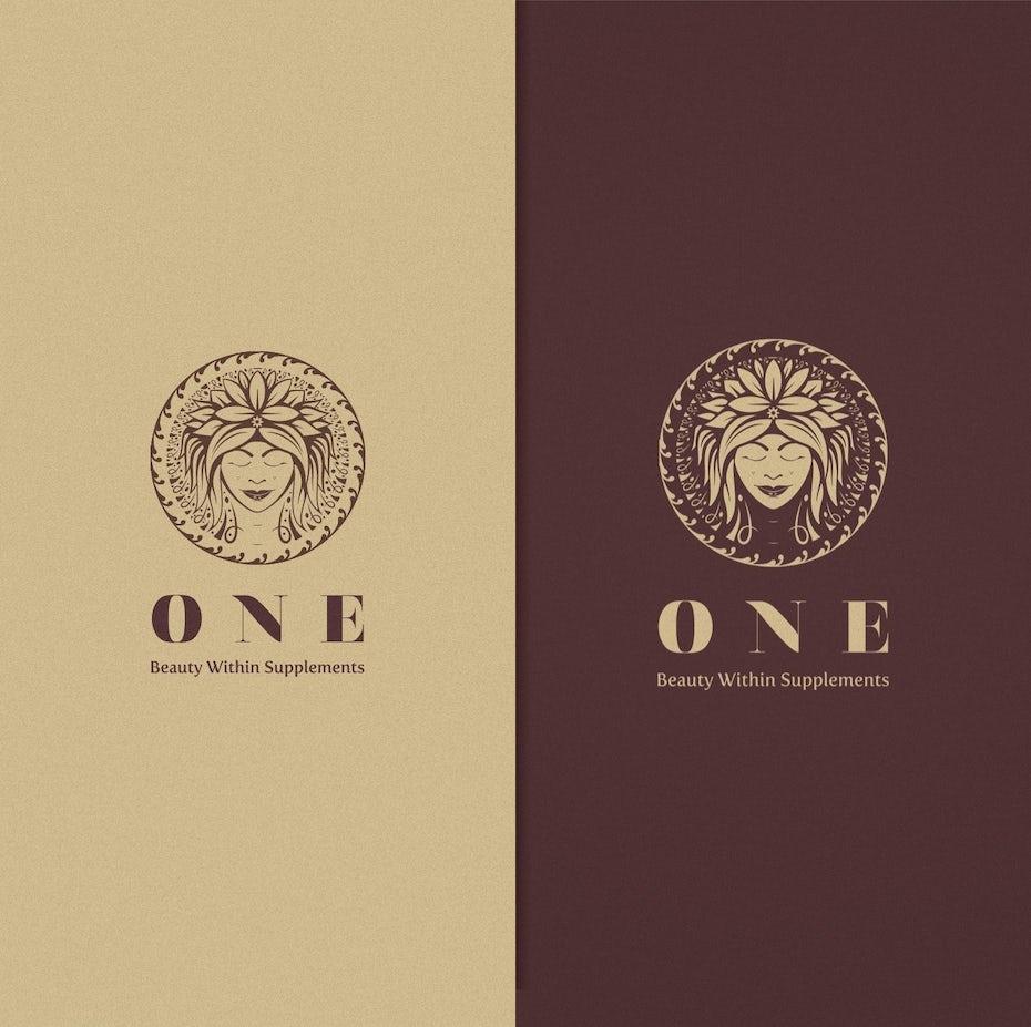 ONE beauty brand logo