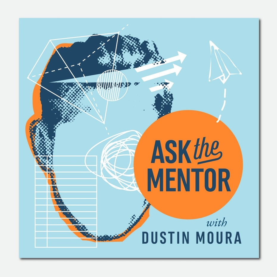 podcast cover art for Ask the mentor