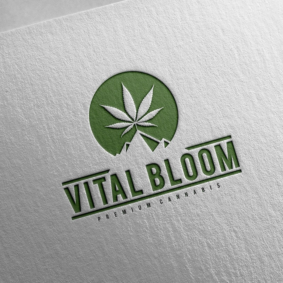 Vital Bloom logo