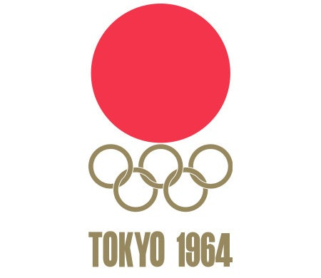 1964 Olympic logo