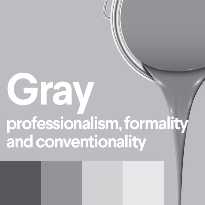 The meaning of gray