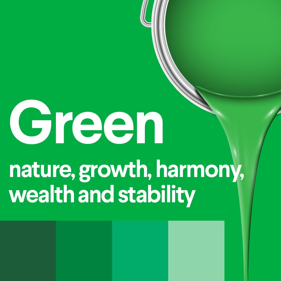 what does green mean: color psychology of green