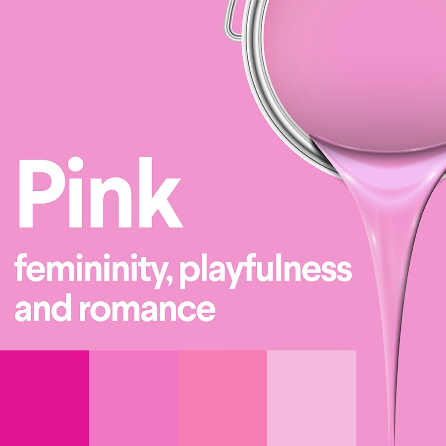 what does pink mean: color psychology of pink