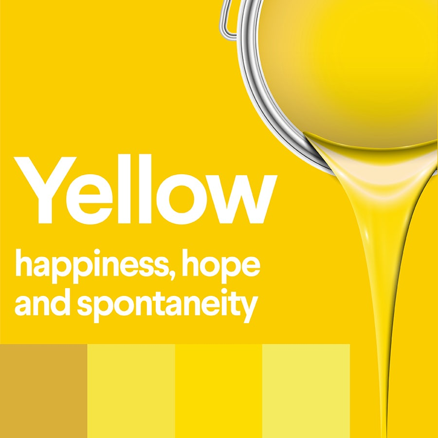 what does yellow mean: color psychology of yellow