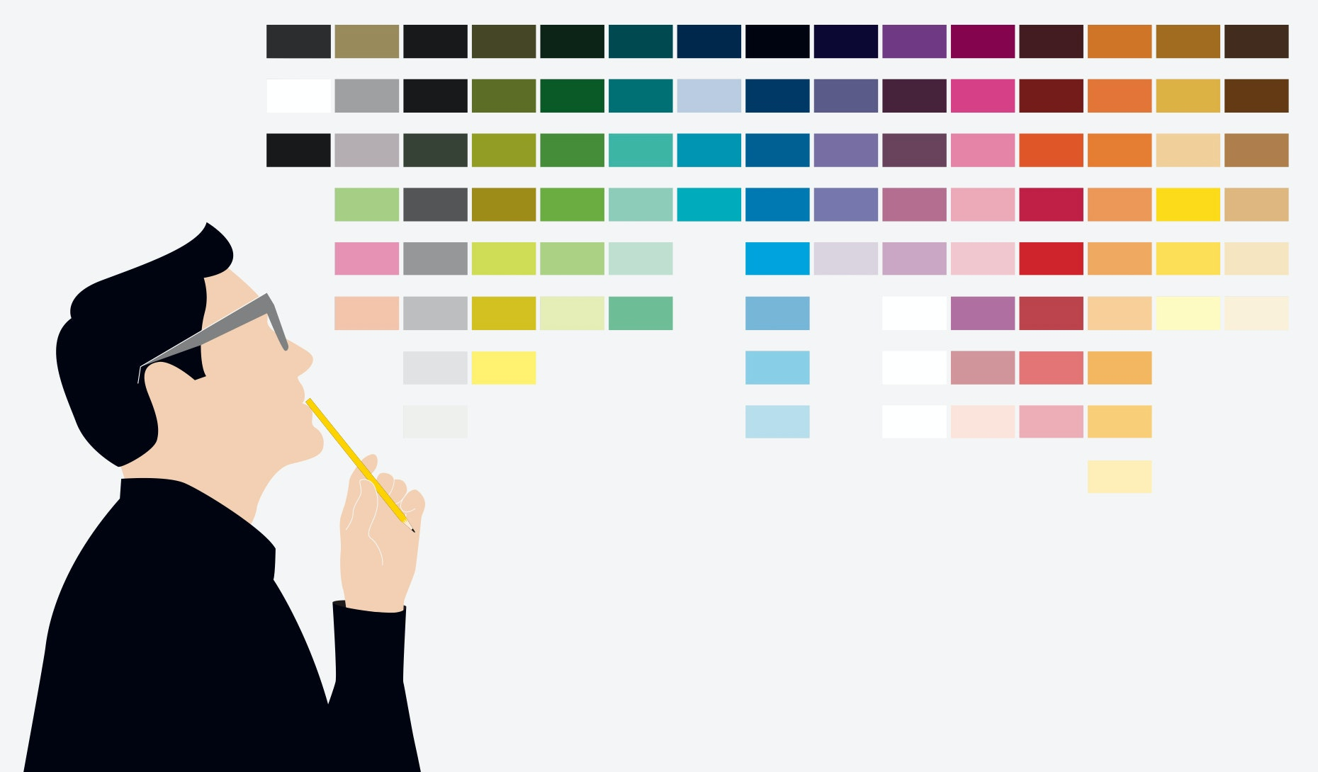 picture about Color Personality Test Printable Red Blue Green Yellow referred to as Coloration meanings and the artwork of getting colour symbolism - 99options
