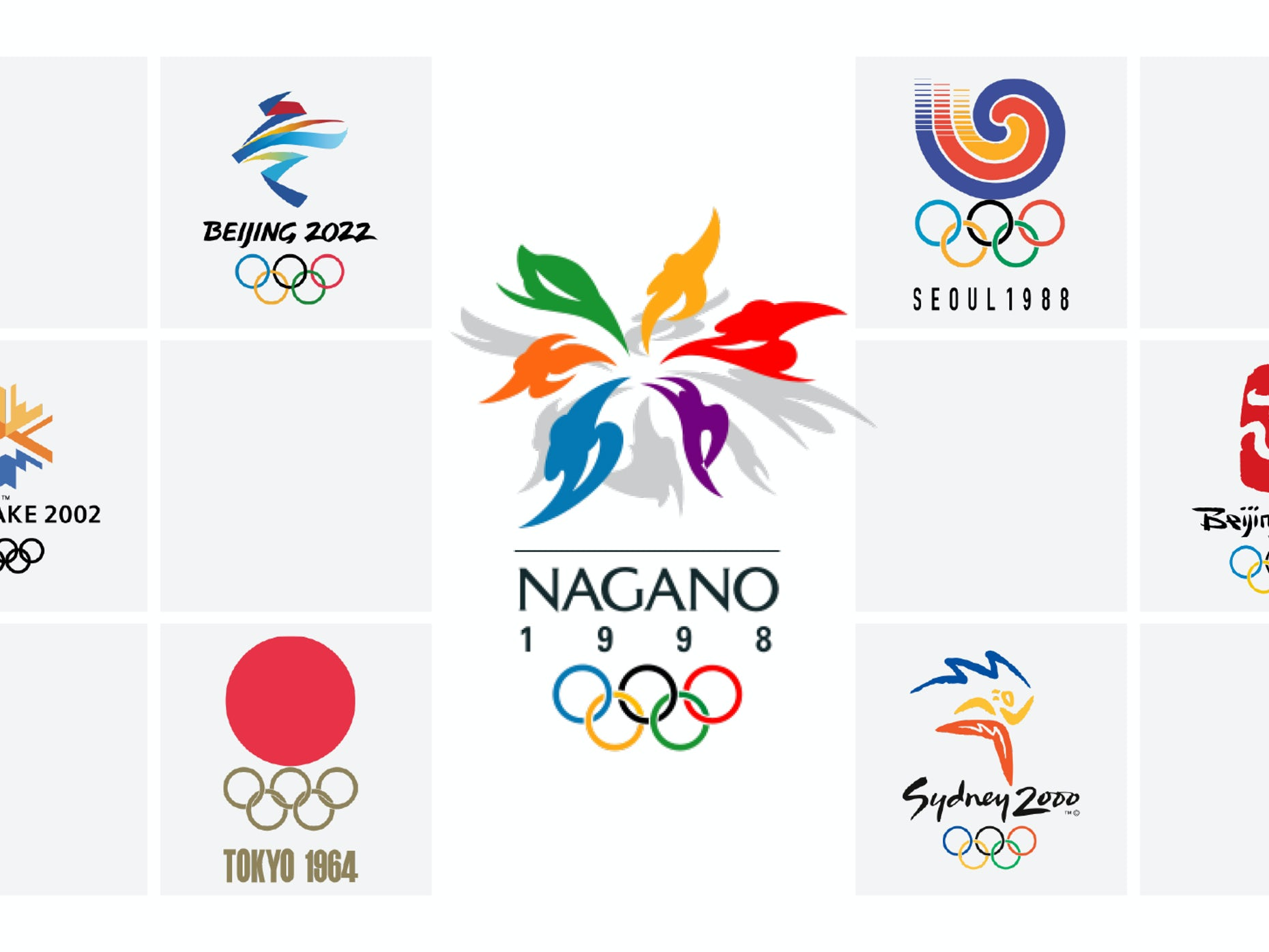 The Best And Worst Olympic Logos Of All Time 99designs