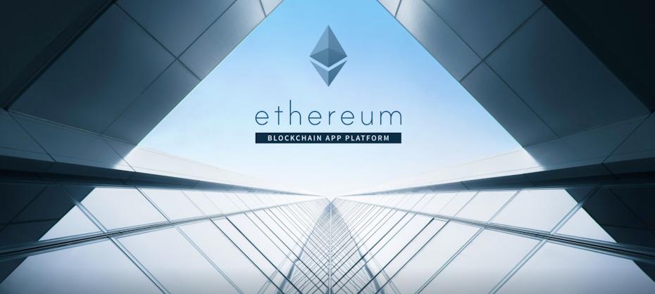 Screenshot from Ethereum website