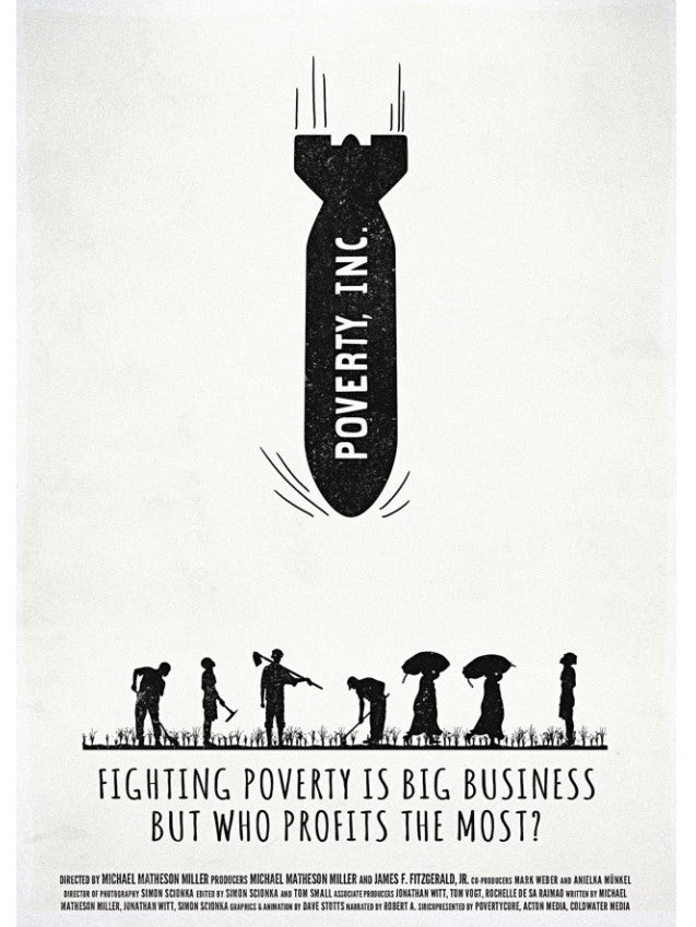 poverty inc poster mockup