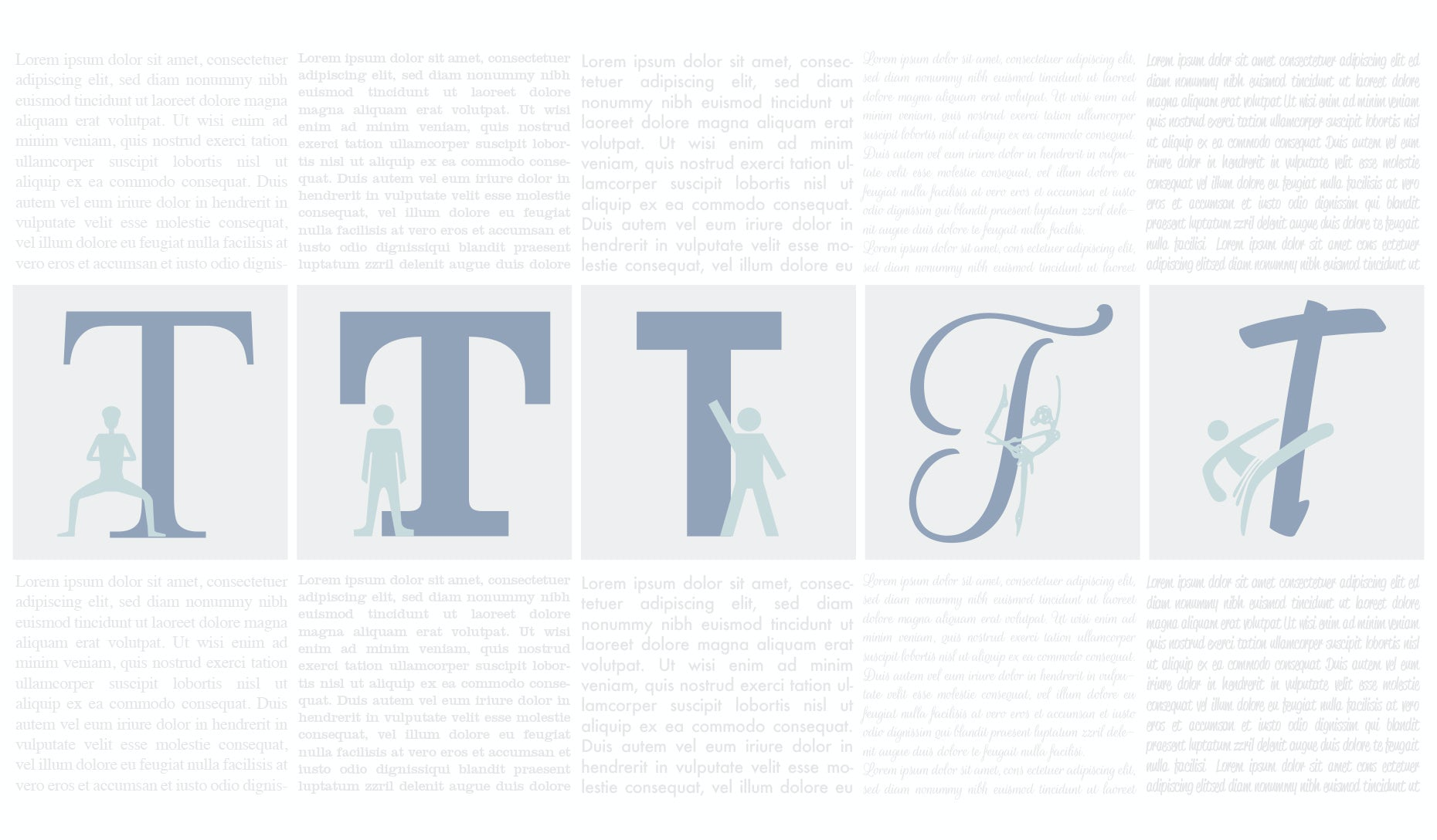 The 5 types of fonts and how to use them - 99designs