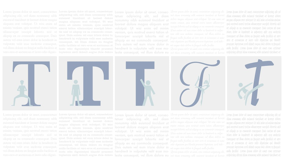 The 5 types of fonts and how to use them
