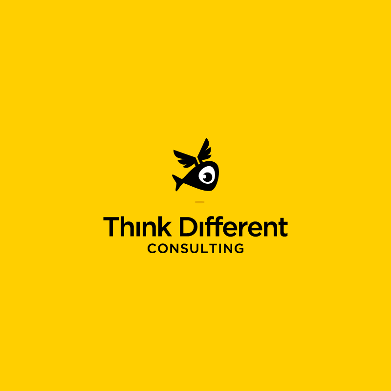 Think Different logo design