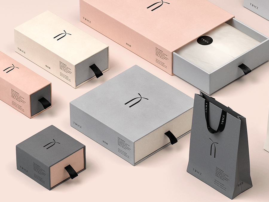 Twice Fashion packaging design