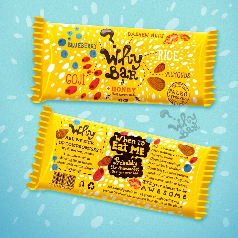 Cereal bar packaging