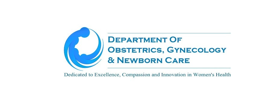 Logo for Department of Obstetrics, Gynecology & Newborn Care