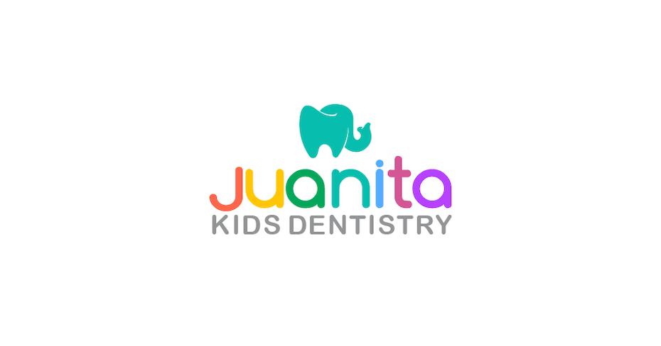 Хуанита детский логотип стоматологии