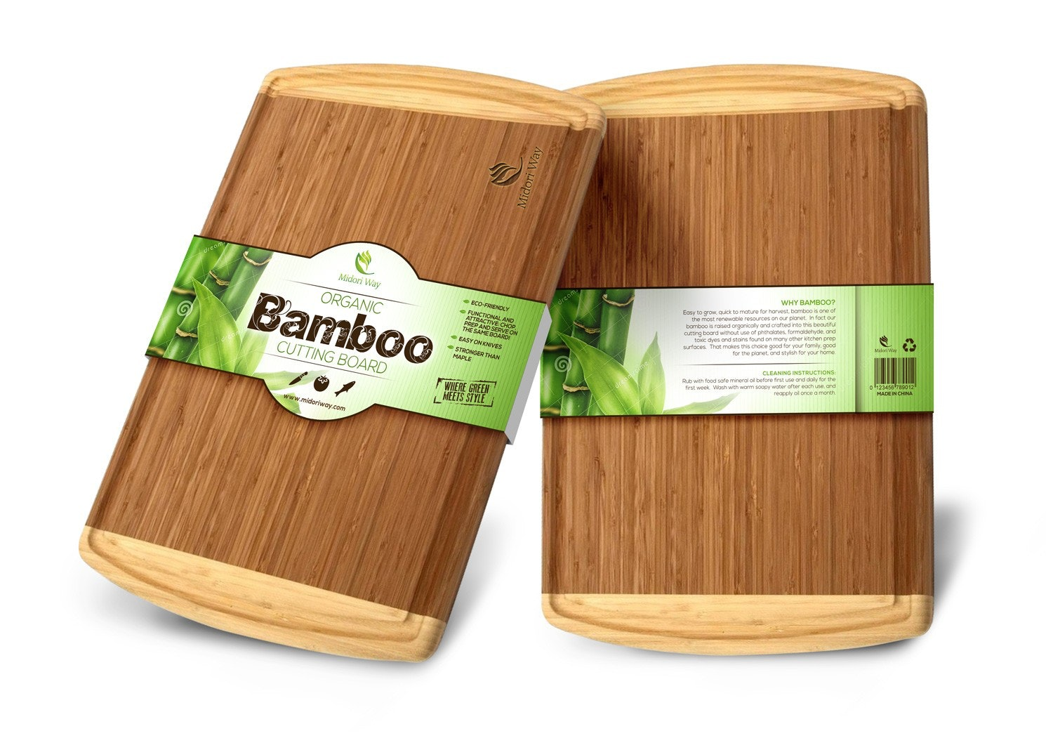 Bamboo cutting board sleeve