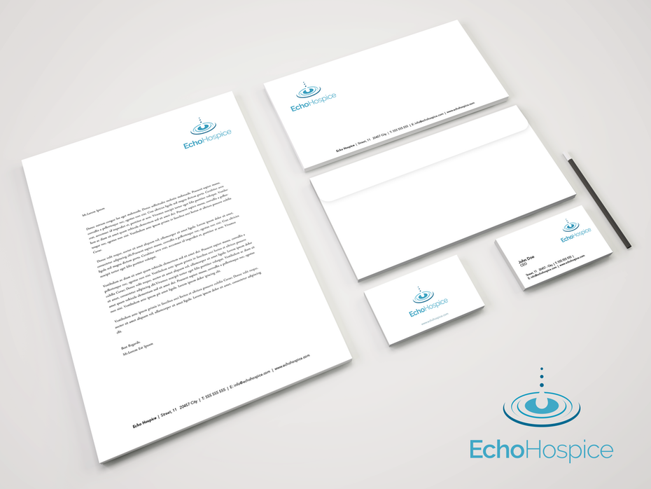 Logo for Echo Hospice