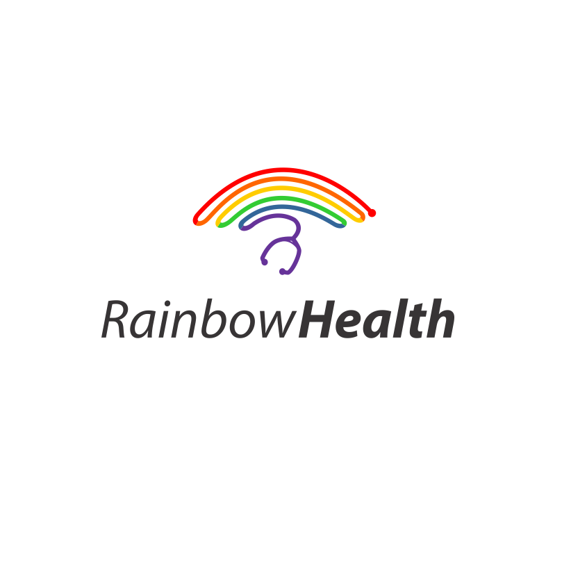 Logo for Rainbow Health