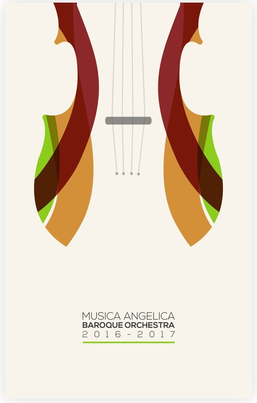 Musica Angelica poster mockup