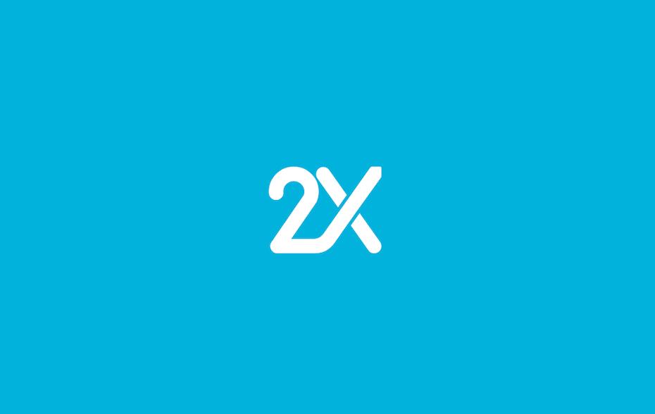 2X Logo