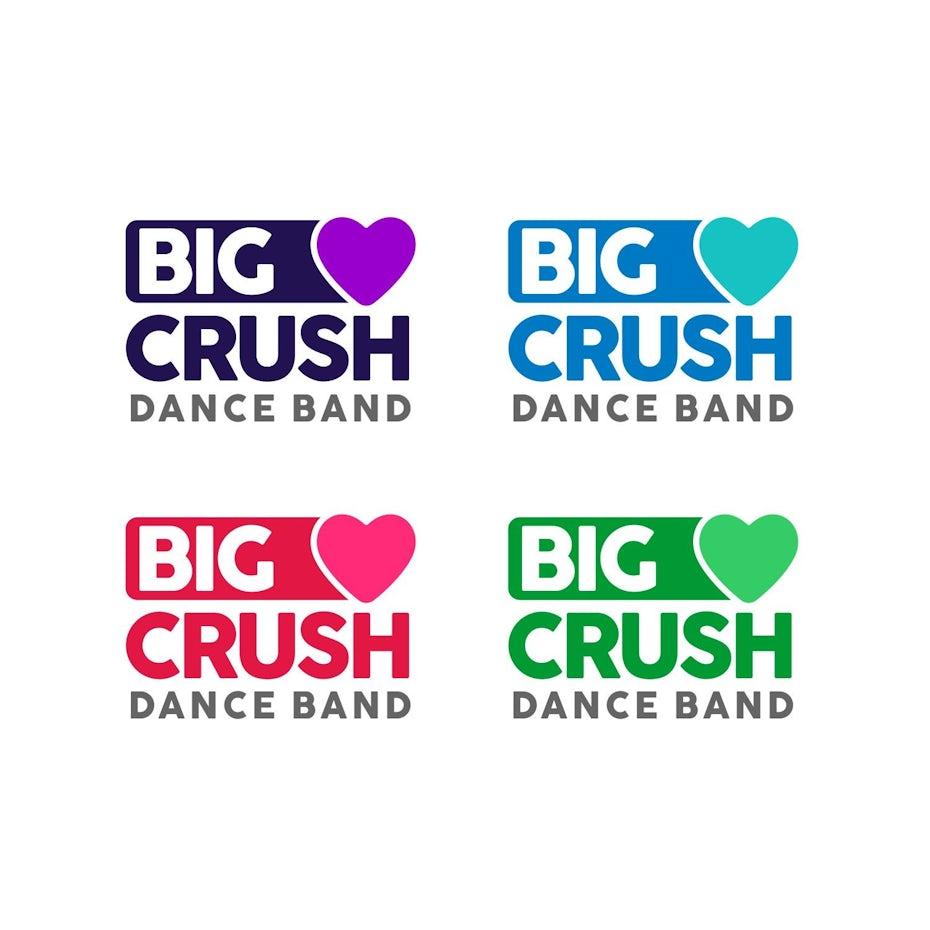 Big Crush Dance Band logo