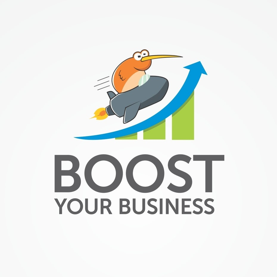 logo for boost your business