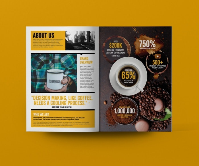 coffee themed magazine