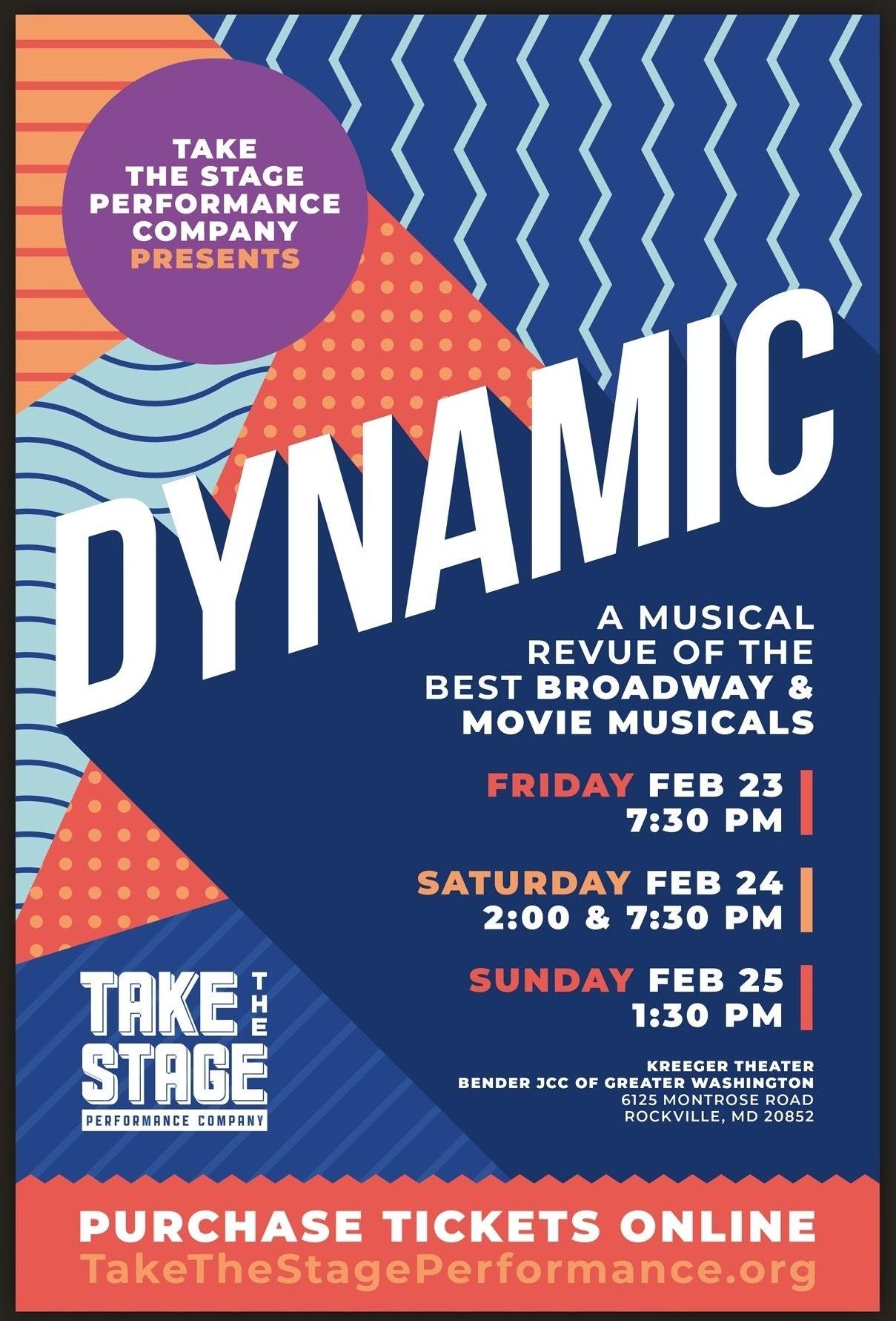 Dynamic poster mockup