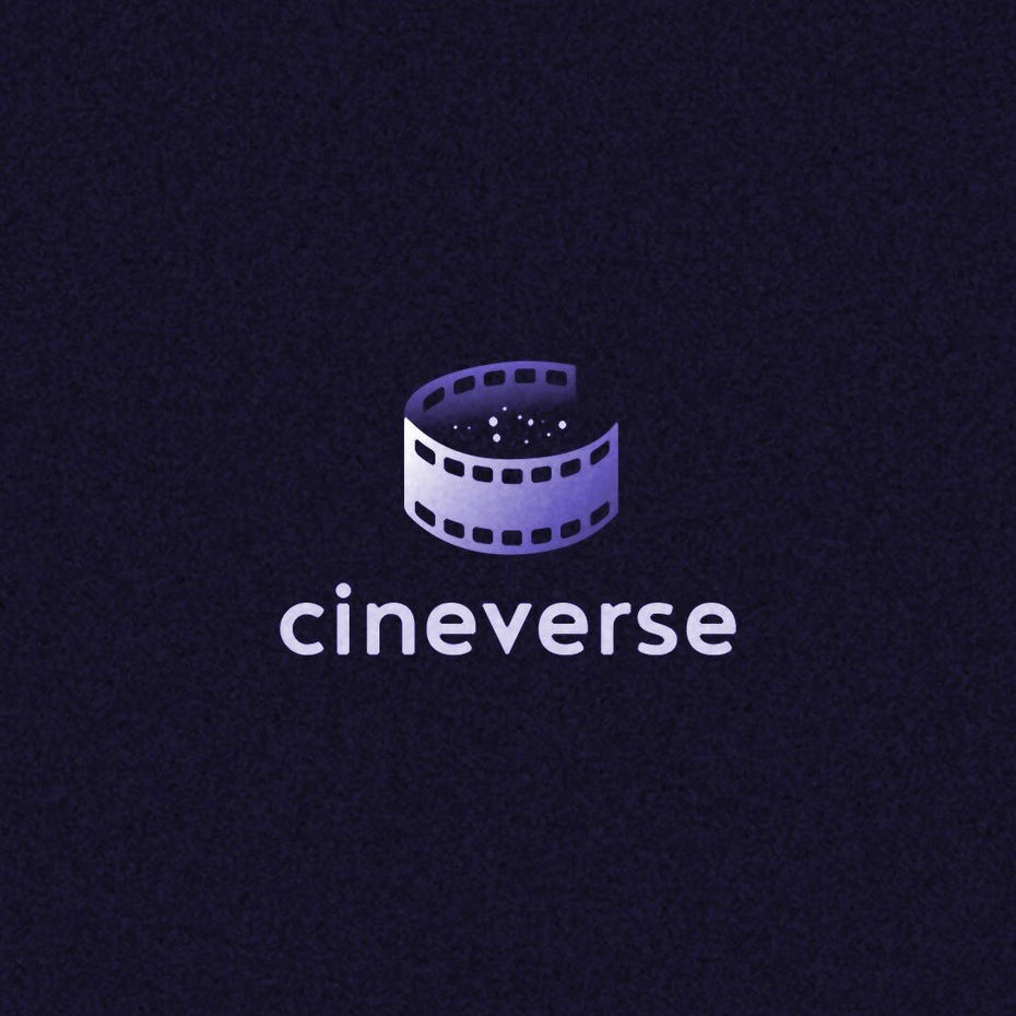 Cineverse logo design