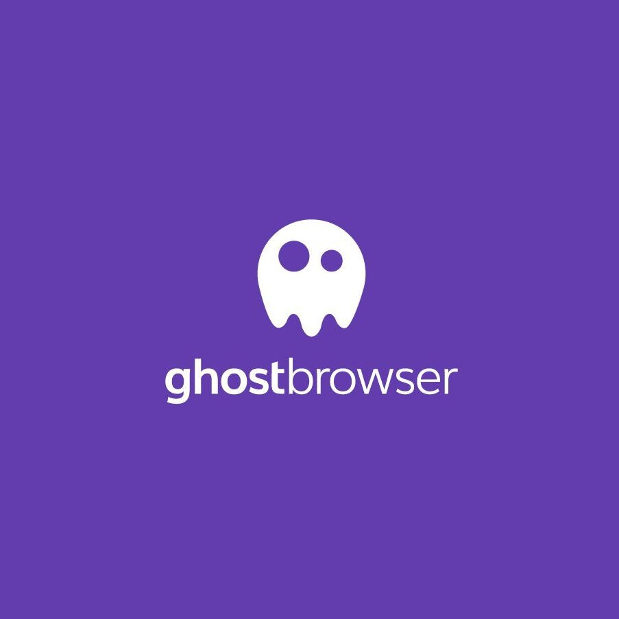 Logo design for ghostbrowser
